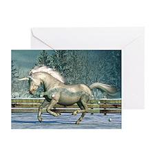 Holiday Unicorn III Greeting Cards (Pk of 10)