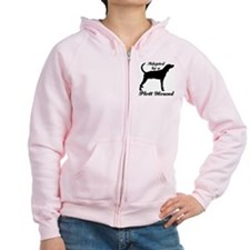 ADOPTED by Plott Hound Zip Hoodie