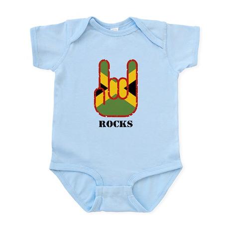 Jamaica Rocks Infant Bodysuit