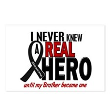 Never Knew A Hero 2 MELANOMA (Brother) Postcards (