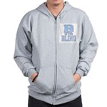 B is for Bling Zip Hoodie