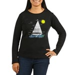 The Well Rigged Women's Long Sleeve Dark T-Shirt
