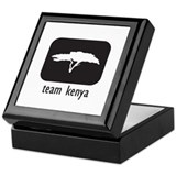 Team Kenya Keepsake Box