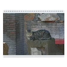 Cats of Rome Wall Calendar