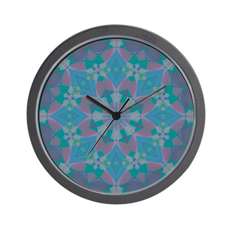Blue Delight Wall Clock