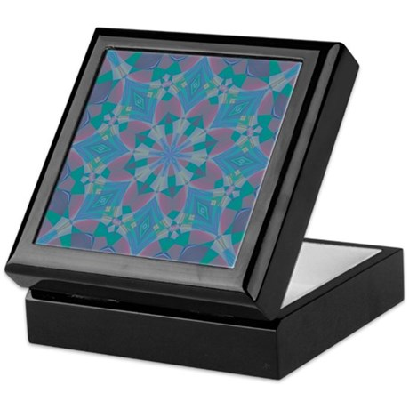 Blue Delight Keepsake Box