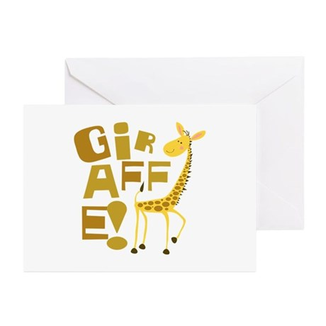Giraffe! Greeting Cards (Pk of 20)