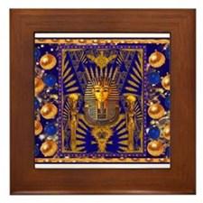 Funny Sphinx Framed Tile