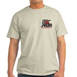 Never Knew A Hero 2 MELANOMA (Daughter) T-Shirt