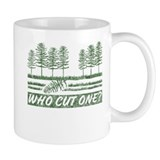 Who Cut One Coffee Mug