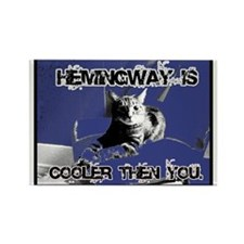 Hemingway Rules Rectangle Magnet
