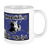 Hemingway Rules Small Mug