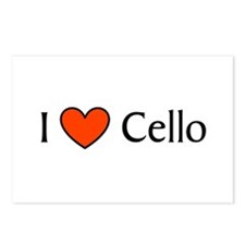 Cello Gift Postcards (Package of 8)