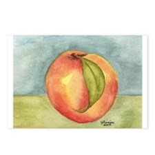 Peach Postcards (Package of 8)