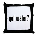got water? Throw Pillow