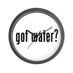 got water? Wall Clock