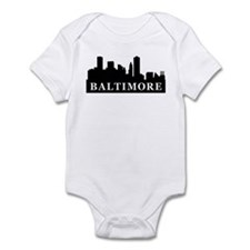 Baltimore Skyline Infant Bodysuit