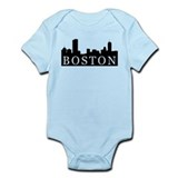 Boston Skyline Onesie