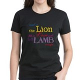 Twilight Lion and Lamb Tee