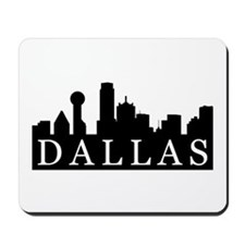 Dallas Skyline Mousepad