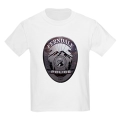 Ferndale Police Kids Light T-Shirt