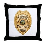 Wheat Ridge Police Throw Pillow