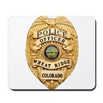 Wheat Ridge Police Mousepad