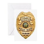 Wheat Ridge Police Greeting Cards (Pk of 10)