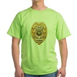 Wheat Ridge Police Green T-Shirt