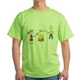 stick people w/ marshmallows T-Shirt