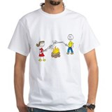 stick people w/ marshmallows Shirt