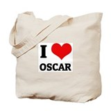 I Love Oscar Tote Bag