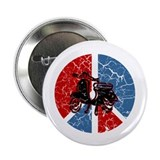 "Peace Out Scooter 2.25"" Button (10 pack)"