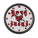 Love Sucks Large Wall Clock