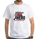 Never Knew A Hero 2 MELANOMA (Aunt) Shirt