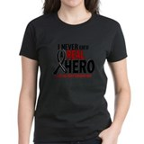 Never Knew A Hero 2 MELANOMA (Aunt) Tee