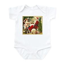 Santa New Year Infant Bodysuit