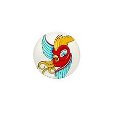 Swallow Mini Button