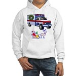 EMS Happy Holidays Greetings Hooded Sweatshirt