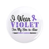 "I Wear Violet Son-in-Law 3.5"" Button"