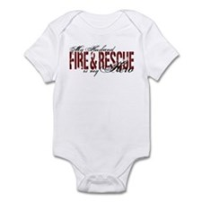 Husband My Hero - Fire & Resue Infant Bodysuit