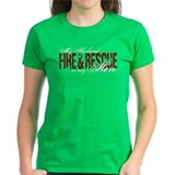 Husband My Hero - Fire & Resue Tee