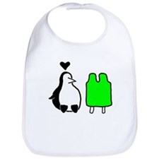 Penguin Love Bib