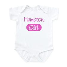 Hampton girl Infant Bodysuit