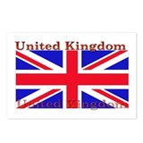 United Kingdom Postcards (Package of 8)