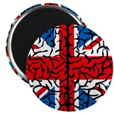 "Brain Britain 2.25"" Magnet (100 pack)"