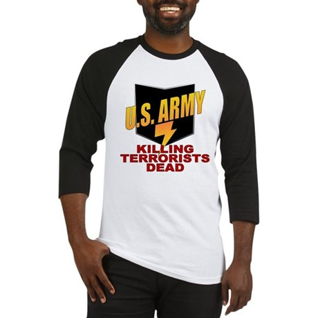 U.S. Army Killing Terrorists Baseball Jersey
