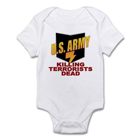 U.S. Army Killing Terrorists Infant Creeper