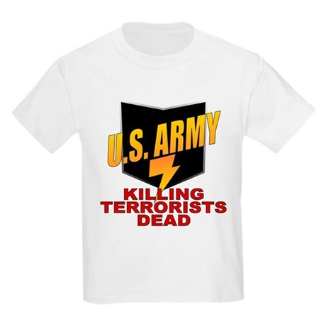U.S. Army Killing Terrorists Kids T-Shirt
