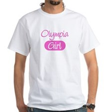 Olympia girl White T-Shirt